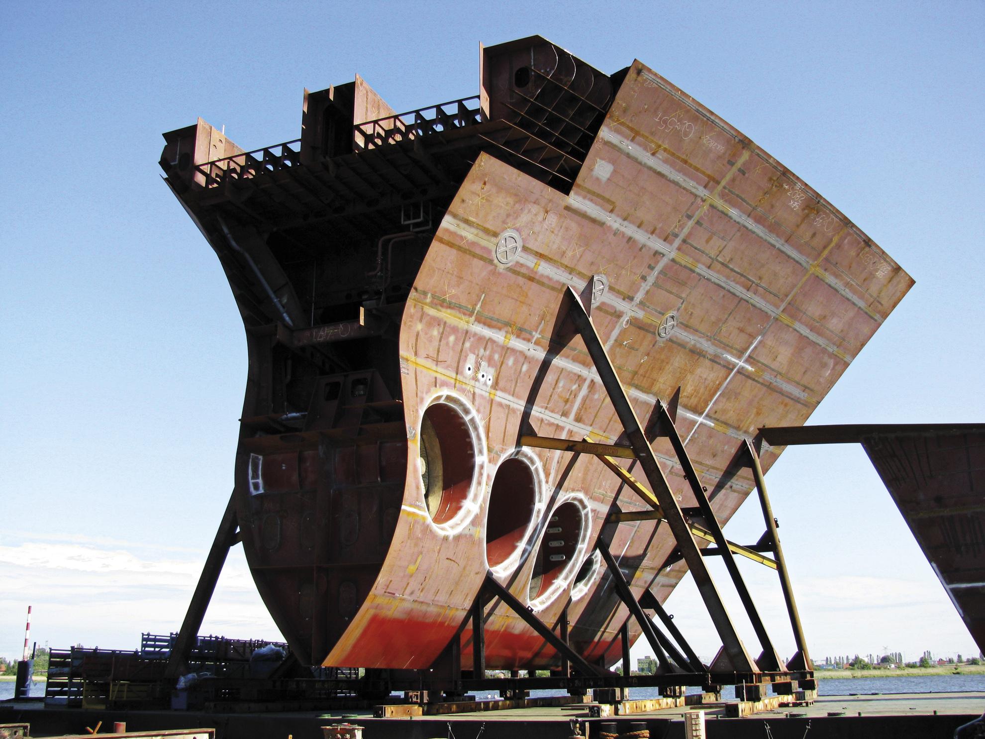 Hull Blocks - Marine Projects Ltd